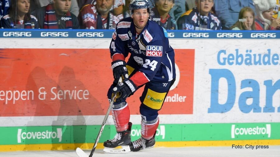 André Rankel der Eishockeyspieler ist auf dem Weg zum Sportmanager
