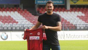 Matthias Rahn auf dem Weg zum Sportmanager