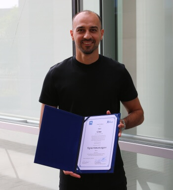 Samil Cinaz ist nun Sportmanager