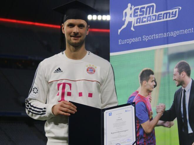 Sven Ulreich ist Absolvent des Sportmanagement Studiums