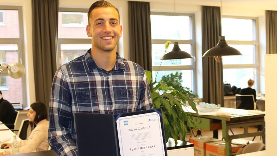 Dušan Crnomut ist Sportmanager