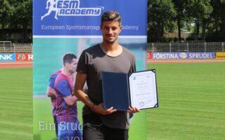 Stefan Kleineheismann ist zertifizierter Sportmanager