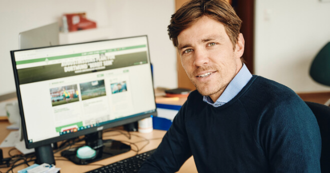 Clemens Fritz, head of the scouting department of SV Werder Bremen