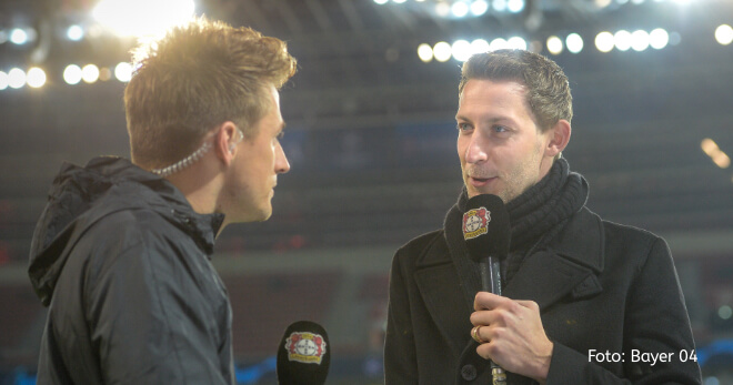 Stefan Kießling als Mitglied der Geschäftsführung von Bayer 04 Leverkusen