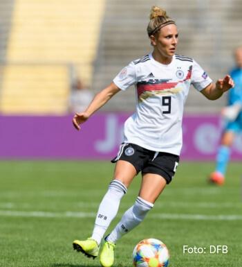 Svenja Huth auf dem Weg zur Sportmanagerin