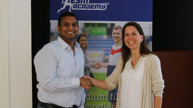 Pandit Sports Geschäftsführer Sindu Sivasuntharam ist neuer Dozent