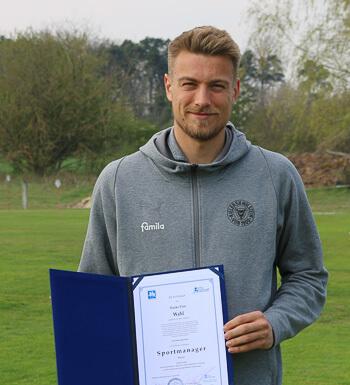 Hauke Wahl von Holstein Kiel ist Sportmanager.