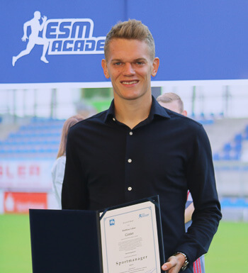 Weltmeister Matthias Ginter ist zertifizierter Sportmanager.