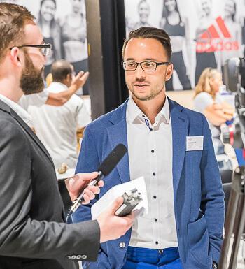 Bundeswehrsoldat Michael Glischinski ist nun Sportmanager.