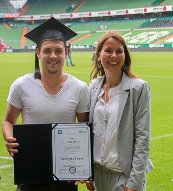 Werder Spieler Zlatko Junuzovic ist Sportmanager.