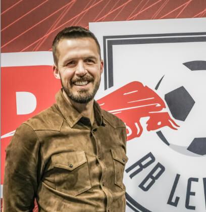 Per Nilsson hat den Sprung geschafft und arbeitet nun bei Rasensport Leipzig